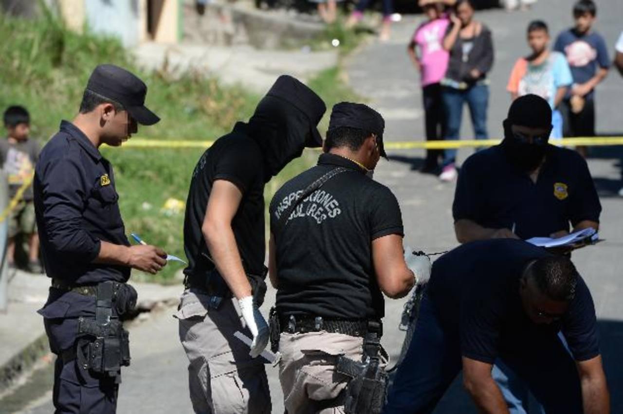 En Cuscatancingo se registró el homicidio de Neris Rivas de 17 años. FOTO EDH/Jaime Anaya.
