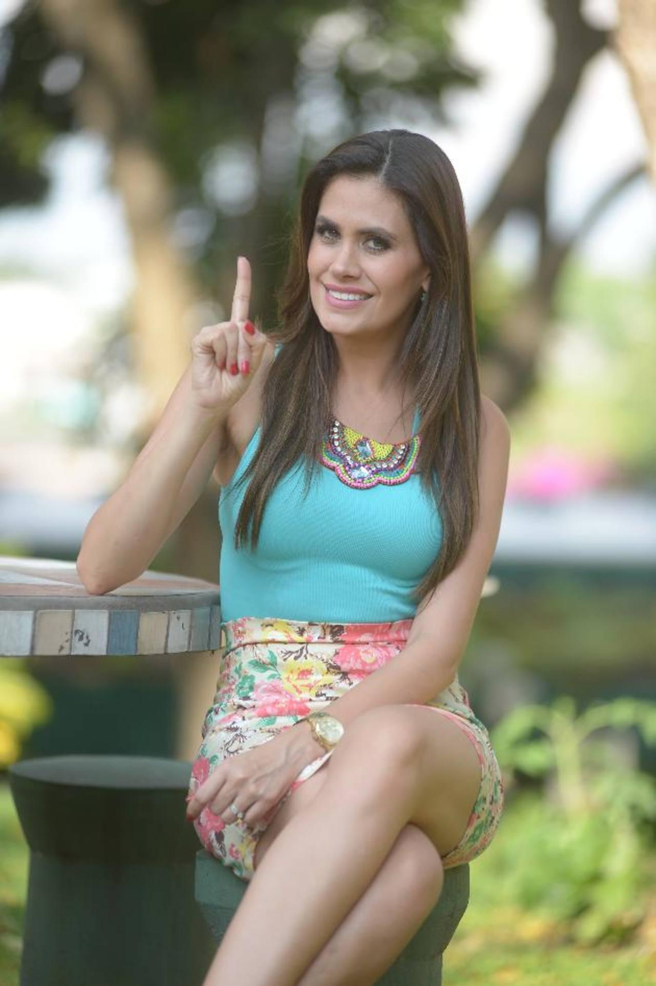 Estefanía Uribe estará al frente del nuevo reality show. Foto EDH / marvin Recinos