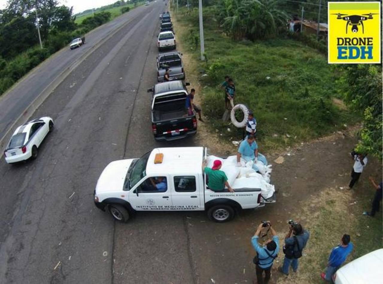Medicina Legal retiró los cadáveres de las víctimas este mediodía.