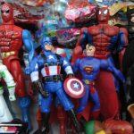 De acuerdo con la clasificación, los juguetes que representan figuras humanas son los más vendidos. Fotos EDH / Miguel Villalta