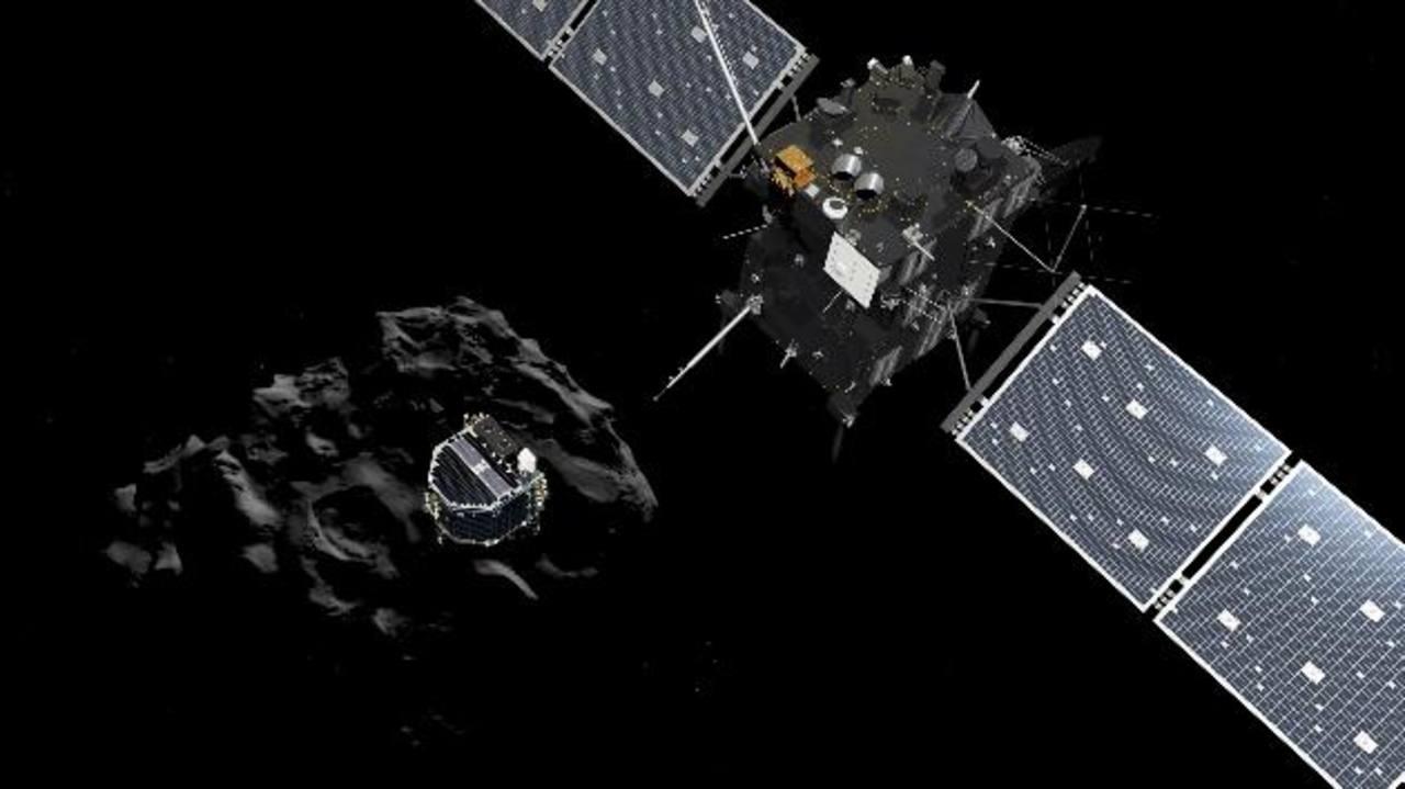 Fotos: La sonda Philae de la nave Rosetta aterriza en el cometa 67P