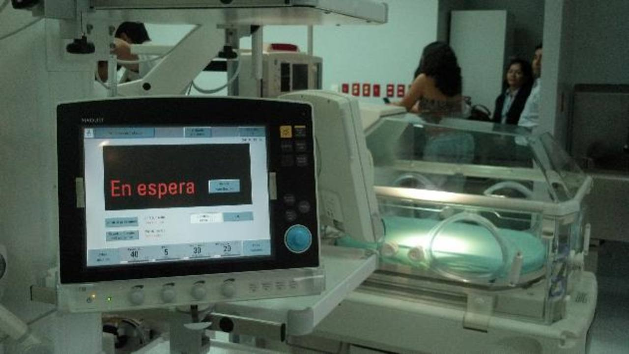 Nueva Unidad de Cuidados Intensivos Neonatales del hospital Bloom. Foto EDH / ARCHIVO