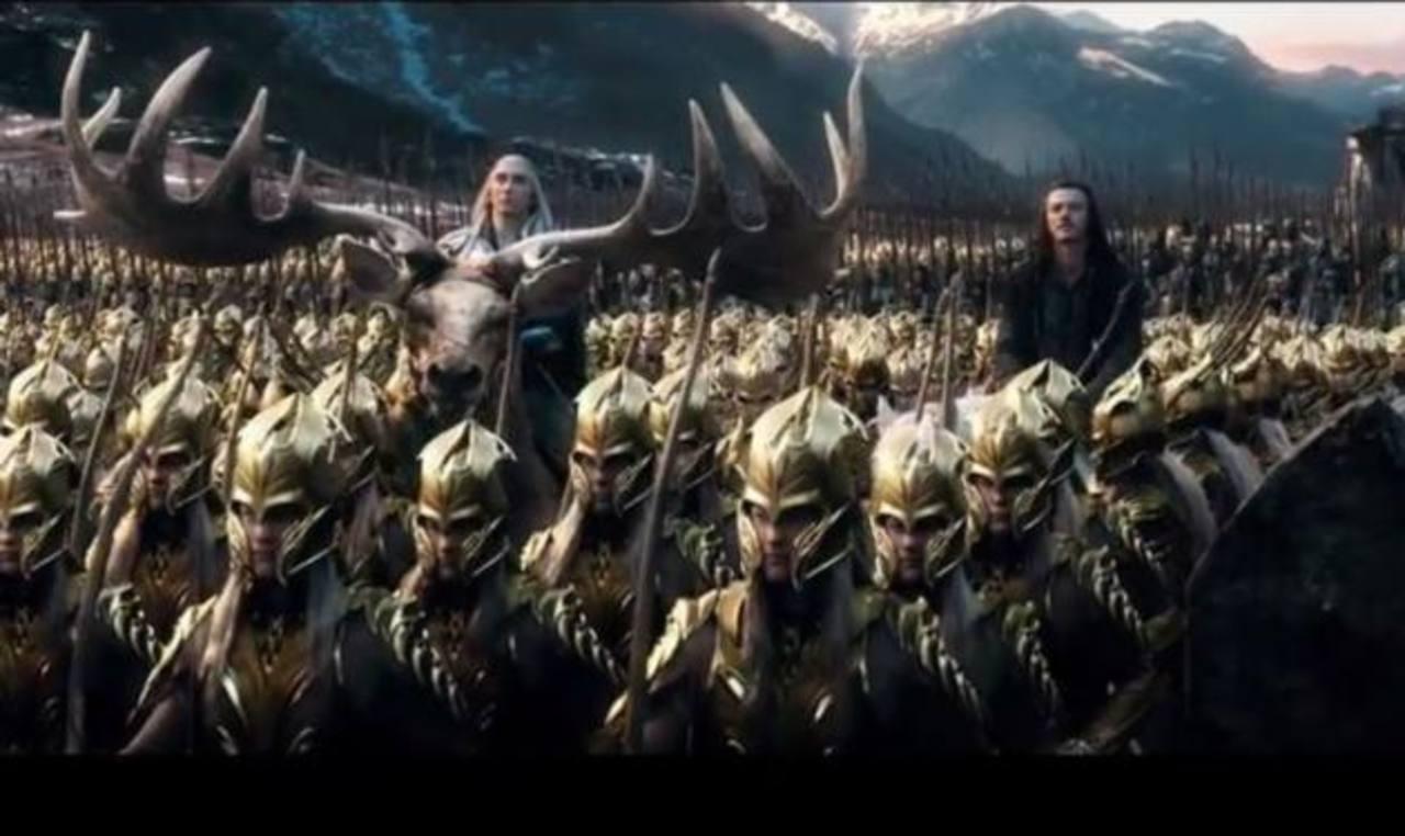 "Presentan trailer final de película ""The Hobbit: The Battle of the Five Armies"""