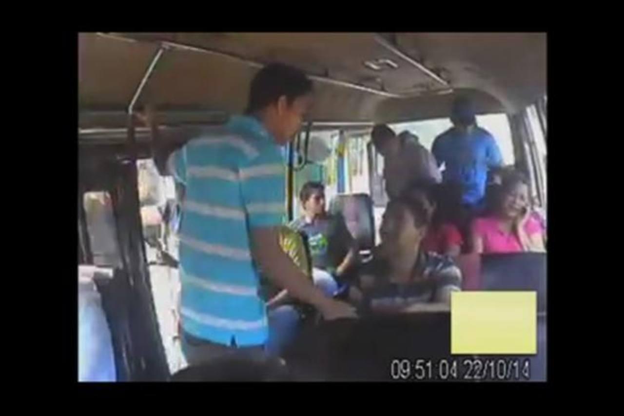 Empresarios piden seguridad tras asaltos en microbuses