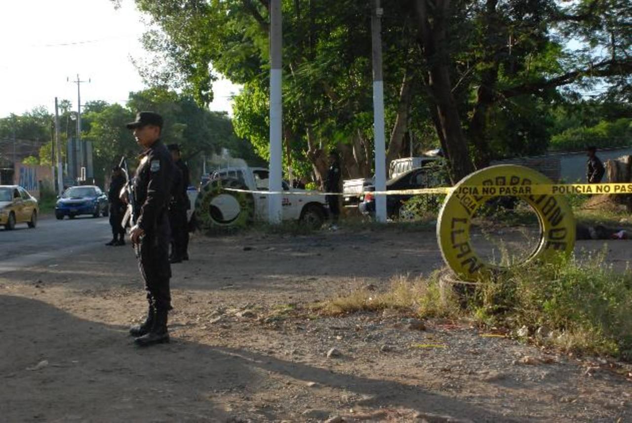 Moisés Alexander Turcios Carbajal, de 16 años, fue asesinado ayer en la colonia La Esperanza, La Unión. Foto EDH / Insy Mendoza