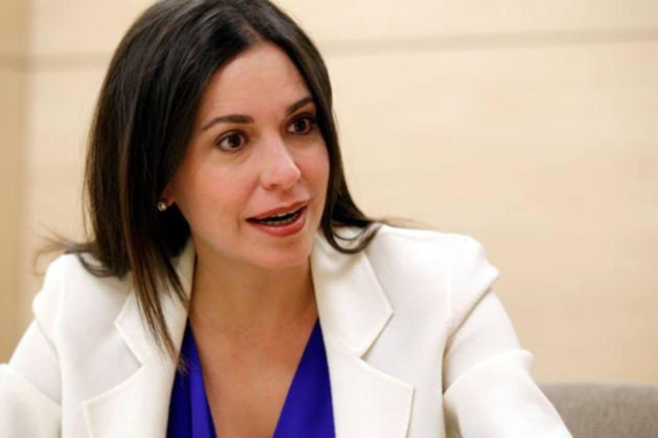María Corina Machado deberá presentarse ante la fiscalía el próximo 3 de diciembre. foto edh / reuters