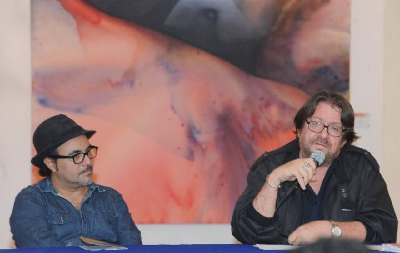 Ronald Morán y César Menéndez. Foto EDH/ Lissette Monterrosa