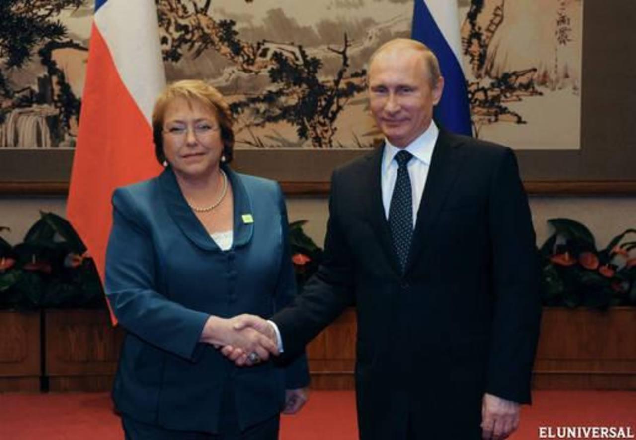 Bachelet busca ayuda de Rusia y Unión Aduanera