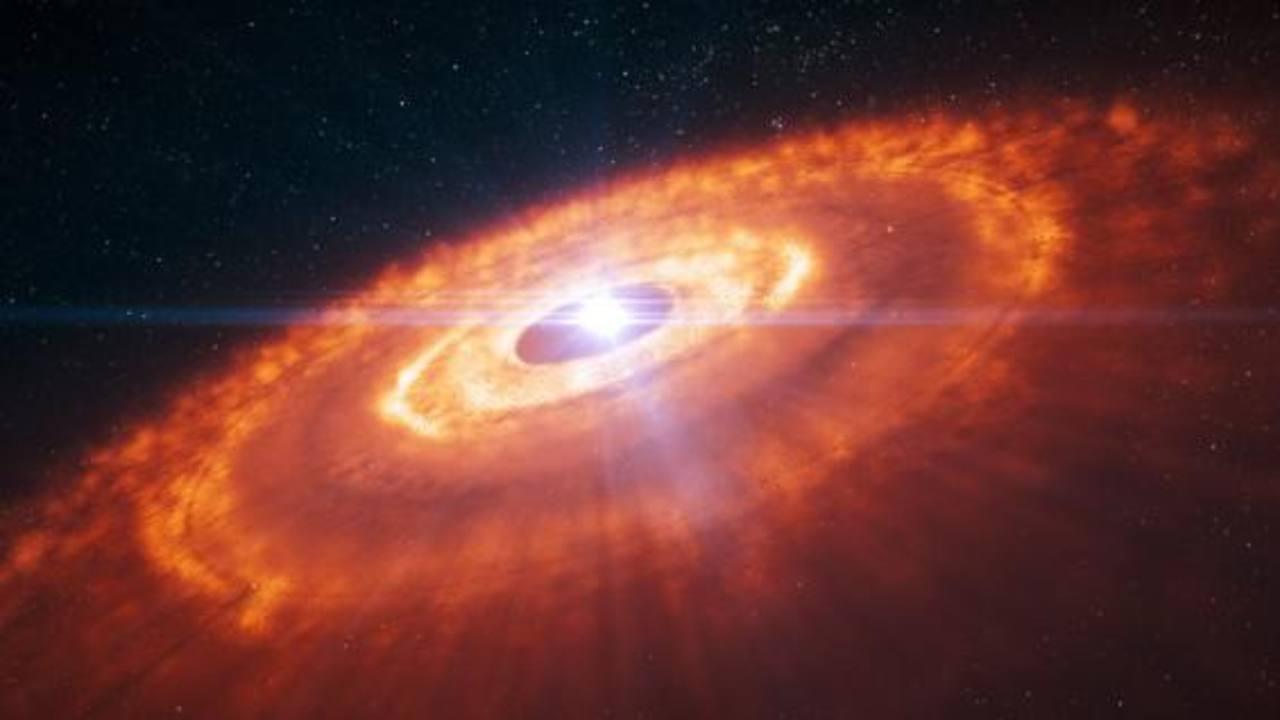 Video: Telescopio de Chile capta formación de un planeta