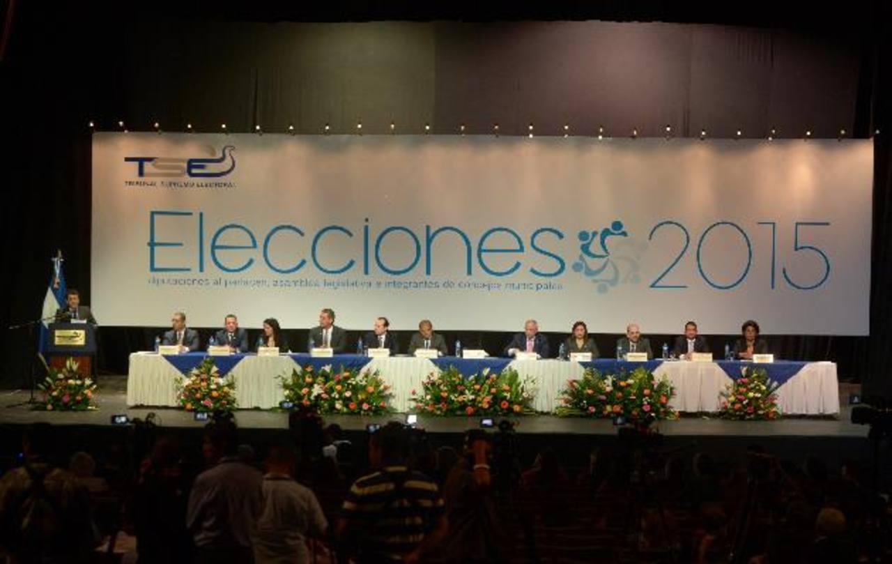El organismo consideró que las elecciones de 2015 son un evento trascendental luego de las diversas reformas electorales aprobadas. FOTO EDH / M. HERNÁNDEZ