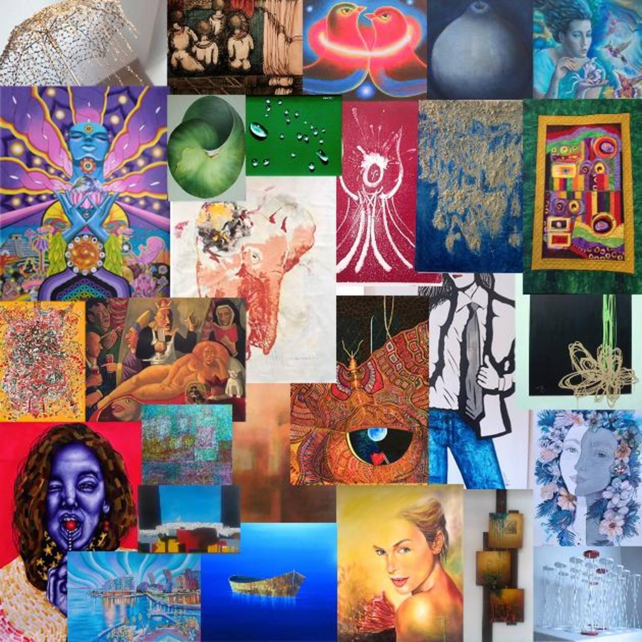 Fuerza, color y expresividad en muestra colectiva