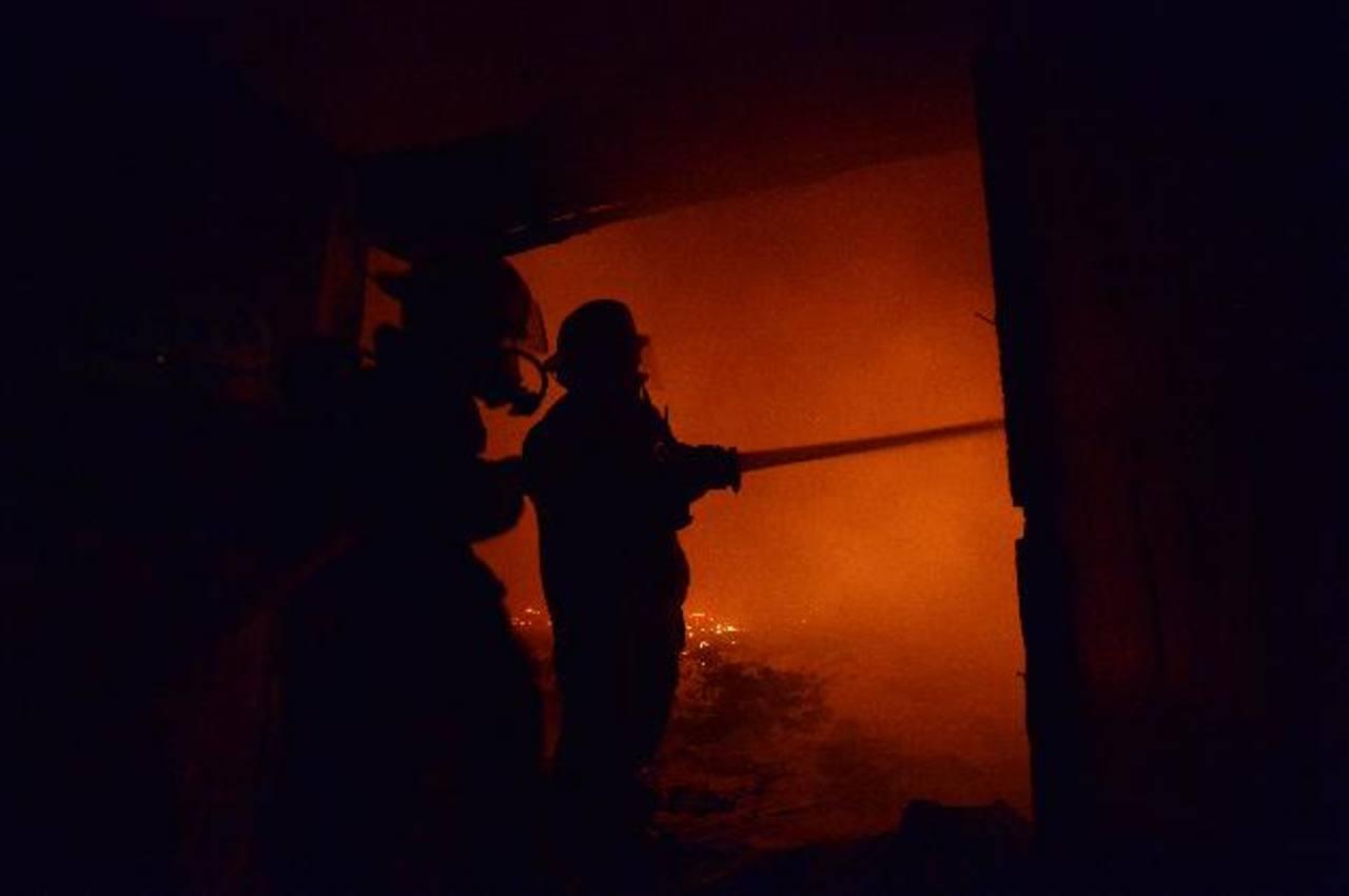 Incendio en Panchimalco deja 8 personas quemadas