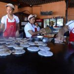 Este año se celebra el X Festival de las Pupusas 2014, para celebrar la fecha se elaborará por primera vez una de múltiples sabores y el concurso de la pupusera más rápida. Fotos EDH / ARCHIVO