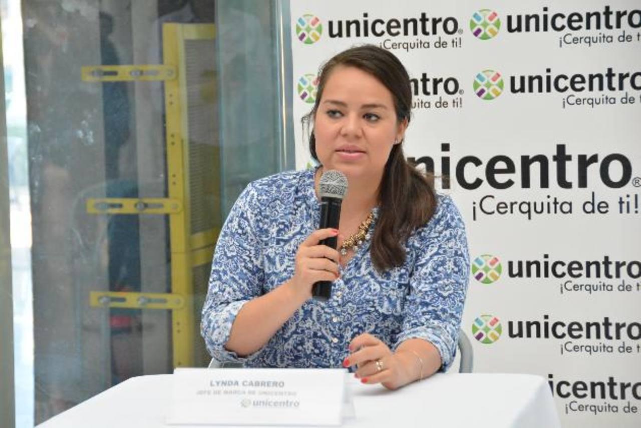 Lynda Cabrero, jefe de marca de Unicentro, compartió todas las actividades preparadas para la época.