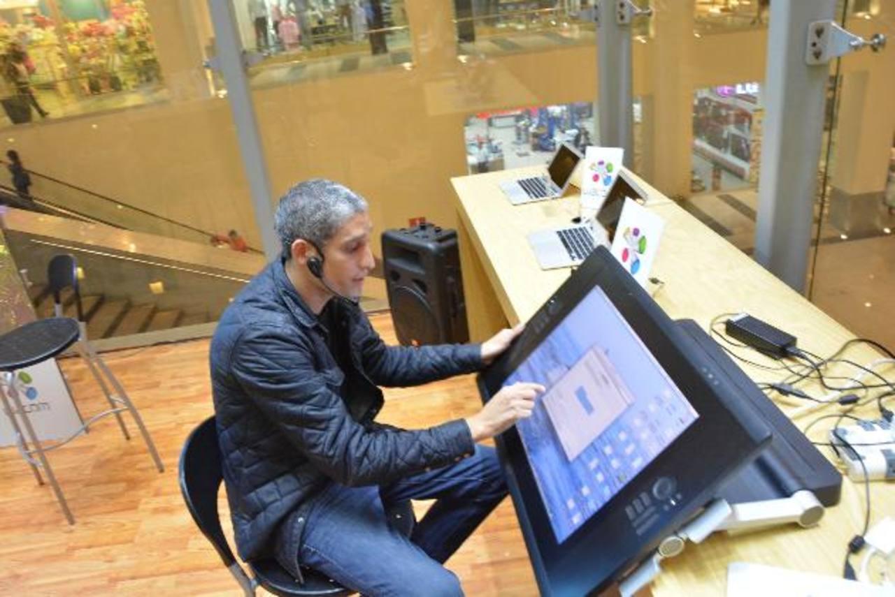 Es la tecnología ideal para los creativos . foto edh / Cortesía