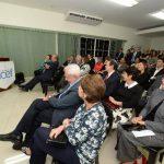 La inauguración y bendición de las nuevas instalaciones de Icef se realizaron el jueves por la noche. foto edh/ jaime anaya
