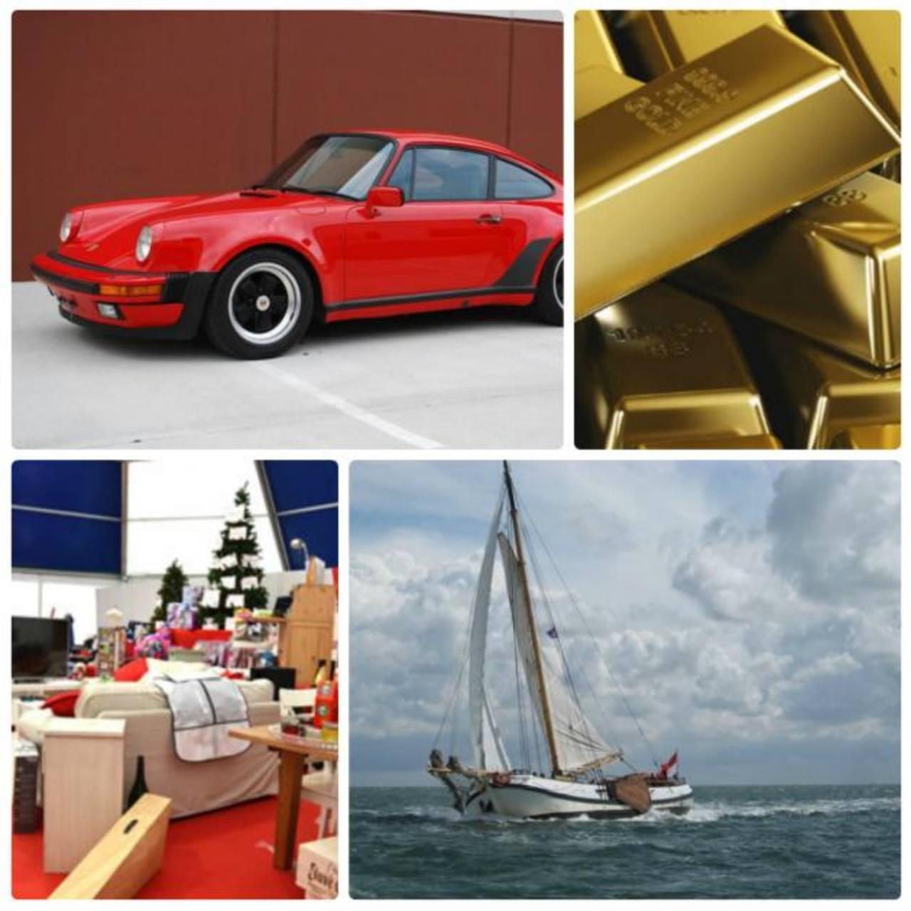 Una vivienda, un Porsche y lingotes de oro, la mayor cesta navideña del mundo