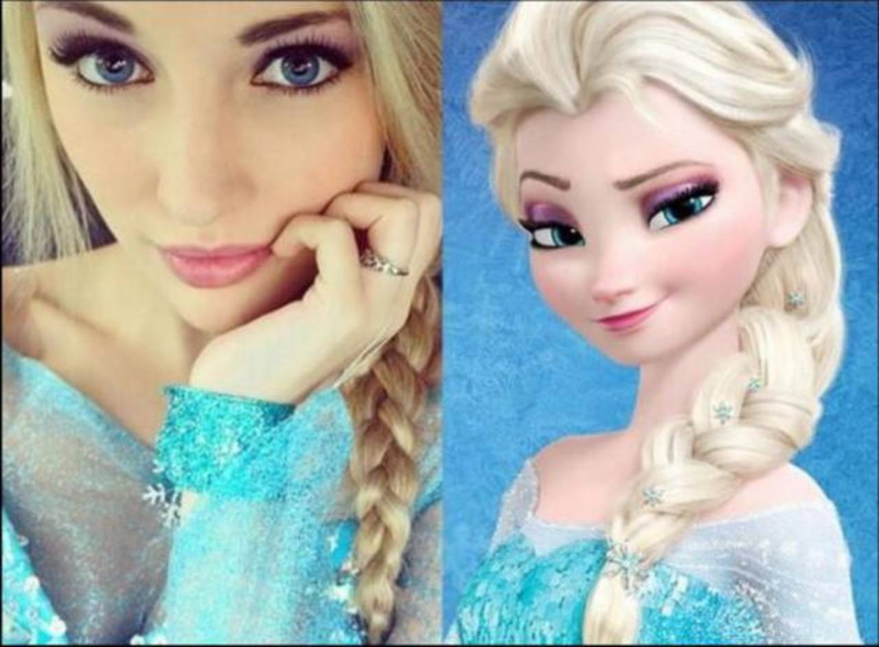 Fotos: ¿Anna Fe Carlson, es Elsa de la película Frozen?