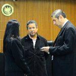 Francisco Flores declaró ante el juez las condiciones insalubres en que se encuentra en la Dan. Foto EDH / Douglas Urquilla.