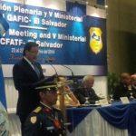 El Fiscal General, Luis Martínez, inauguró hoy la XL reunión del Gafic, que vela por normas internacionales contra lavado de dinero.