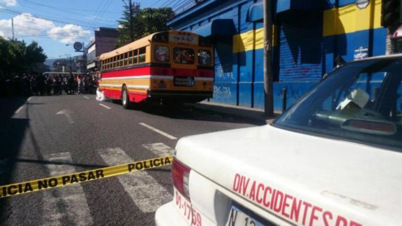 Niño de 5 años muere atropellado por bus Ruta 41D