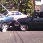 Intento de robo en Avenida 3, colonia San Luis, San Salvador. Víctimas se liaron a golpes con asaltantes.
