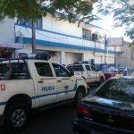 La delegación centro de la Policía, situada en las cercanías del parque Infantil, es un local alquilado. Foto EDH/ Jaime López.