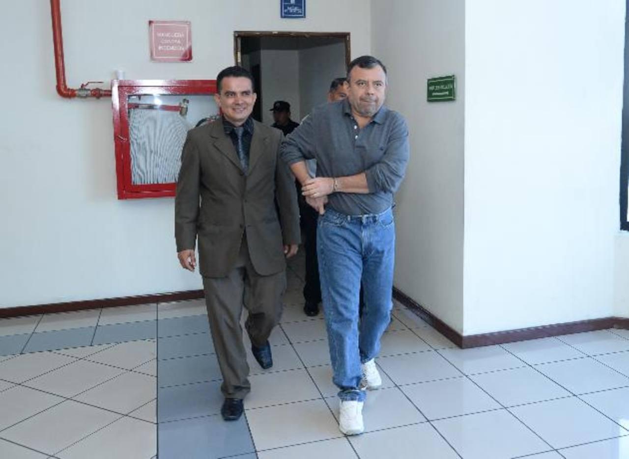 """Jorge Ernesto Ulloa Sibrián (a) """"El Repollo"""", condenado ayer por traficar con drogas en varios países de Centroamérica. Foto EDH"""