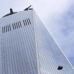VIDEO: Rescatan a 2 limpiavidrios en el piso 68 del nuevo WTC