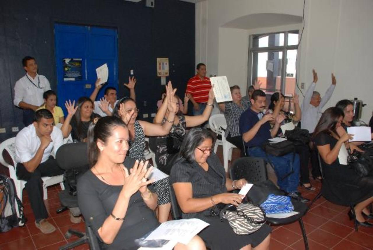 Los educadores fueron capacitados en La Unión foto edh / insy Mendoza.