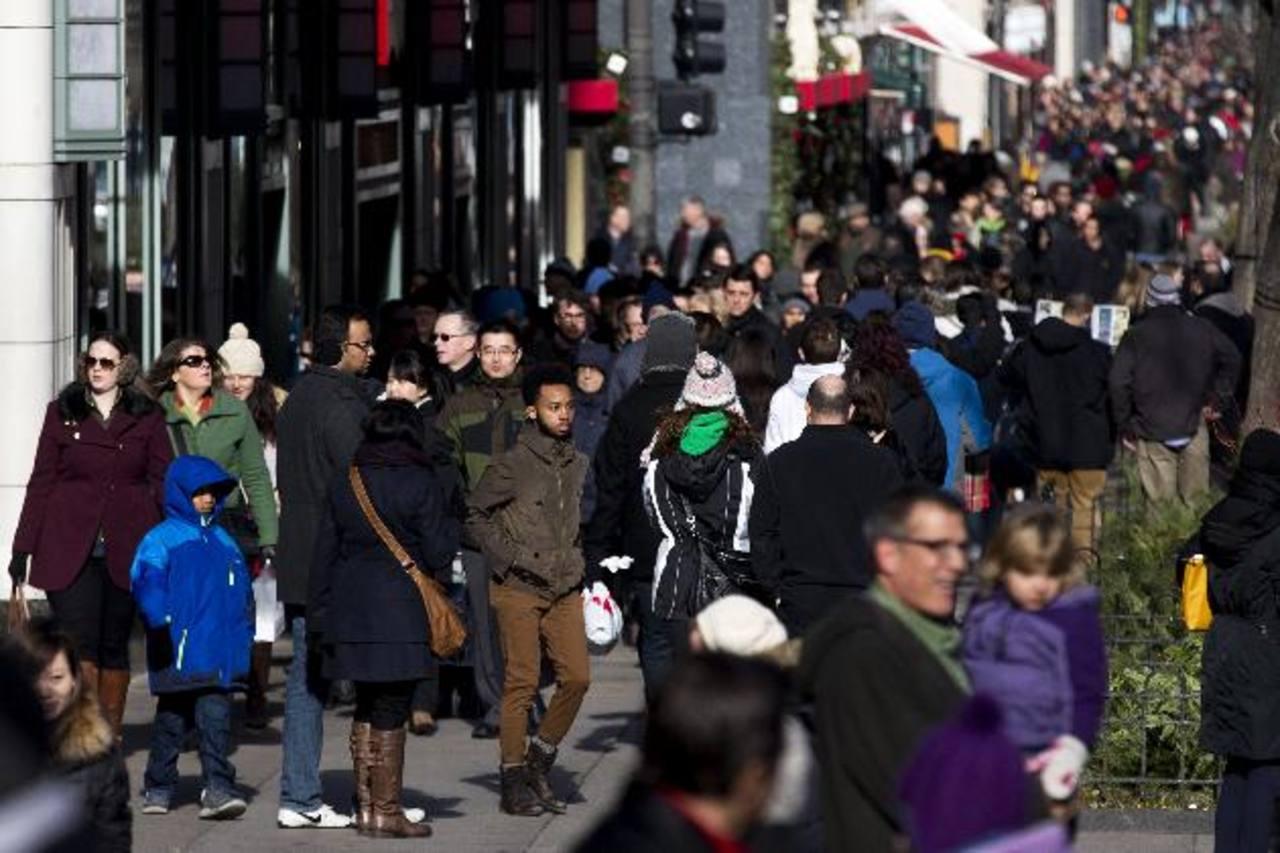 Según la Federación Nacional de Minoristas, el 61.1 por ciento de los consumidores en EE. UU. planea irse de compras. edh / archivo