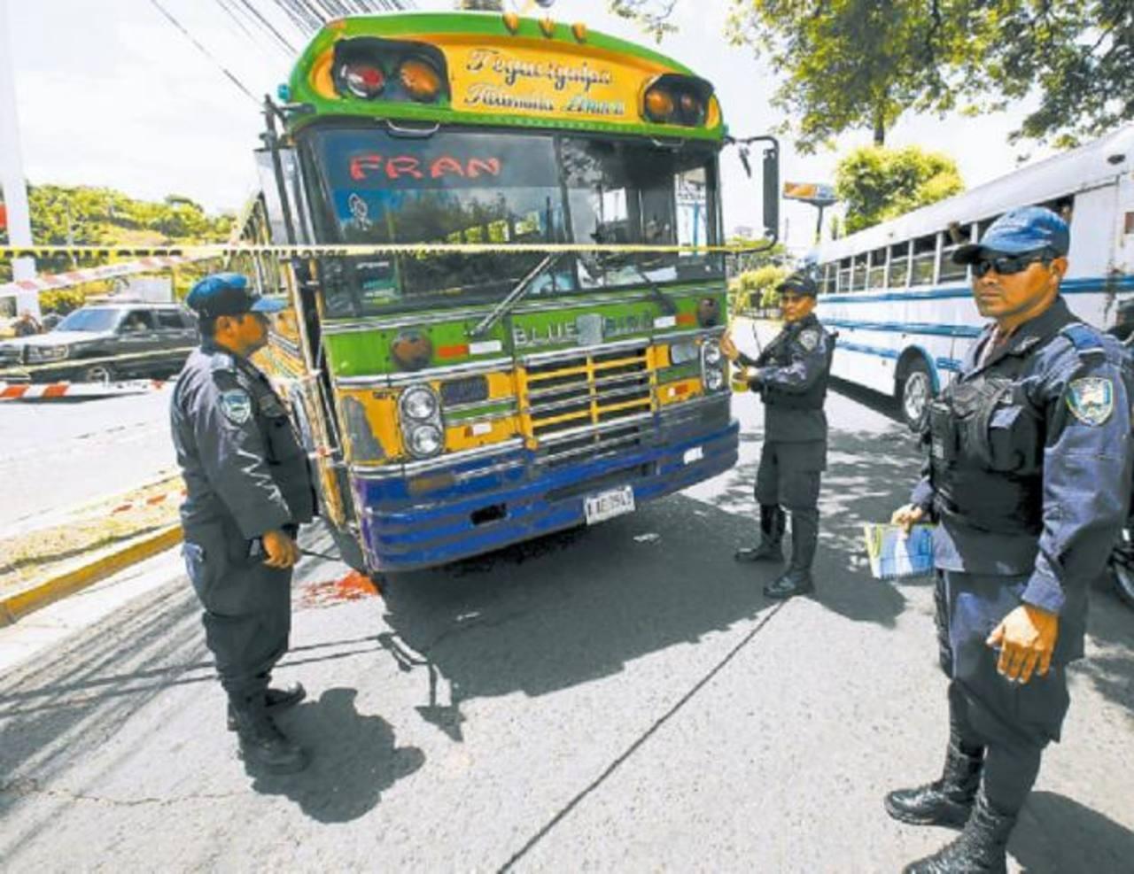 Hasta agosto, 68 transportistas han sido asesinados, según la Dirección General del Transporte (DGT). foto edh / el heraldo