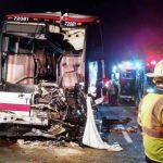 Accidente vial en Nueva York deja 27 heridos
