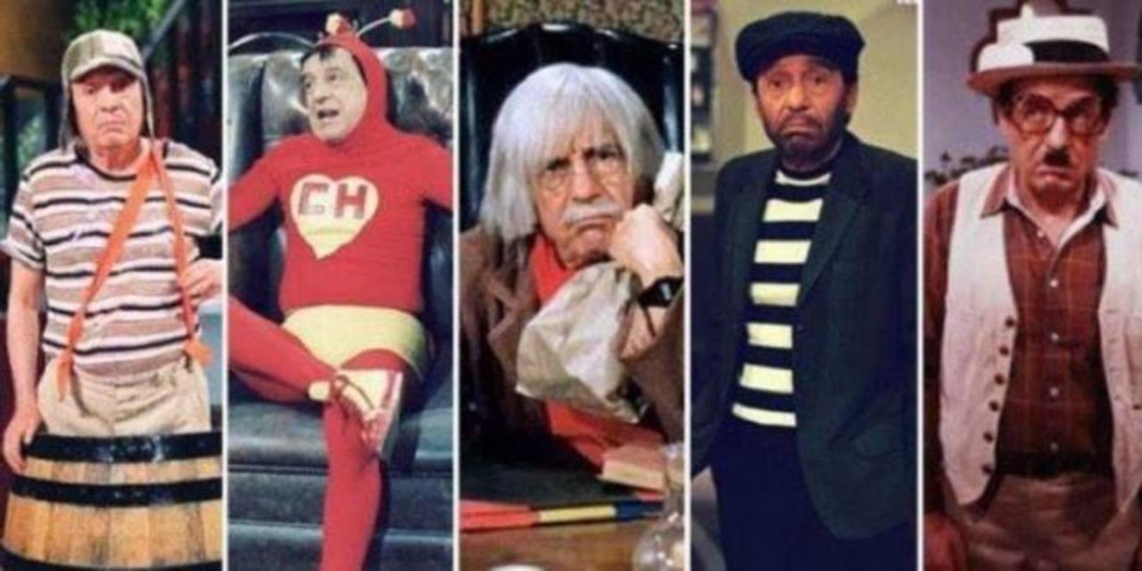 """Chespirito y la """"CH"""" de sus personajes"""