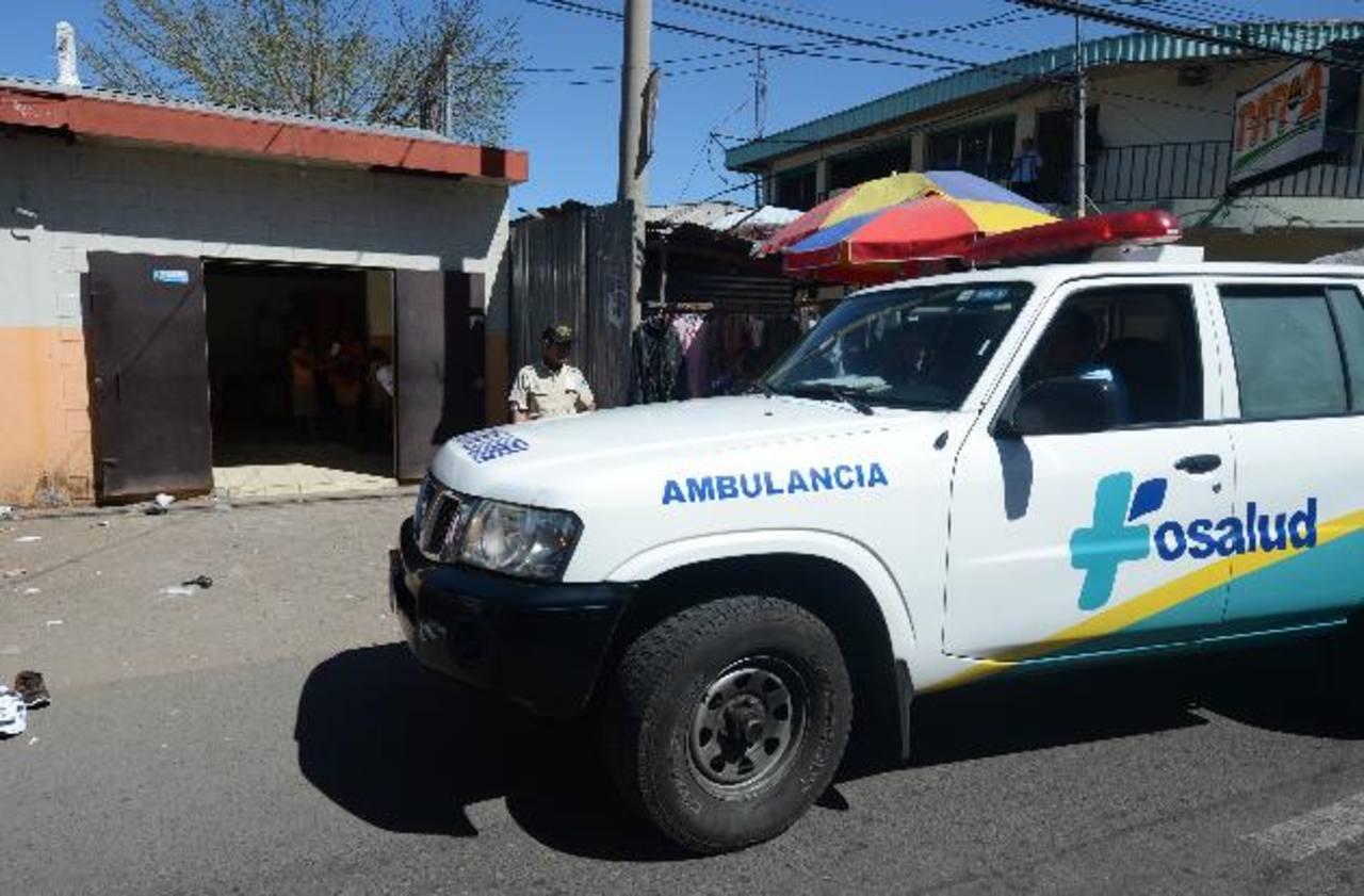 Brayan Alexander Jovel fue trasladado al Fosalud de Aguilares, pero murió mientras lo atendían. Foto EDH / Douglas Urquilla.