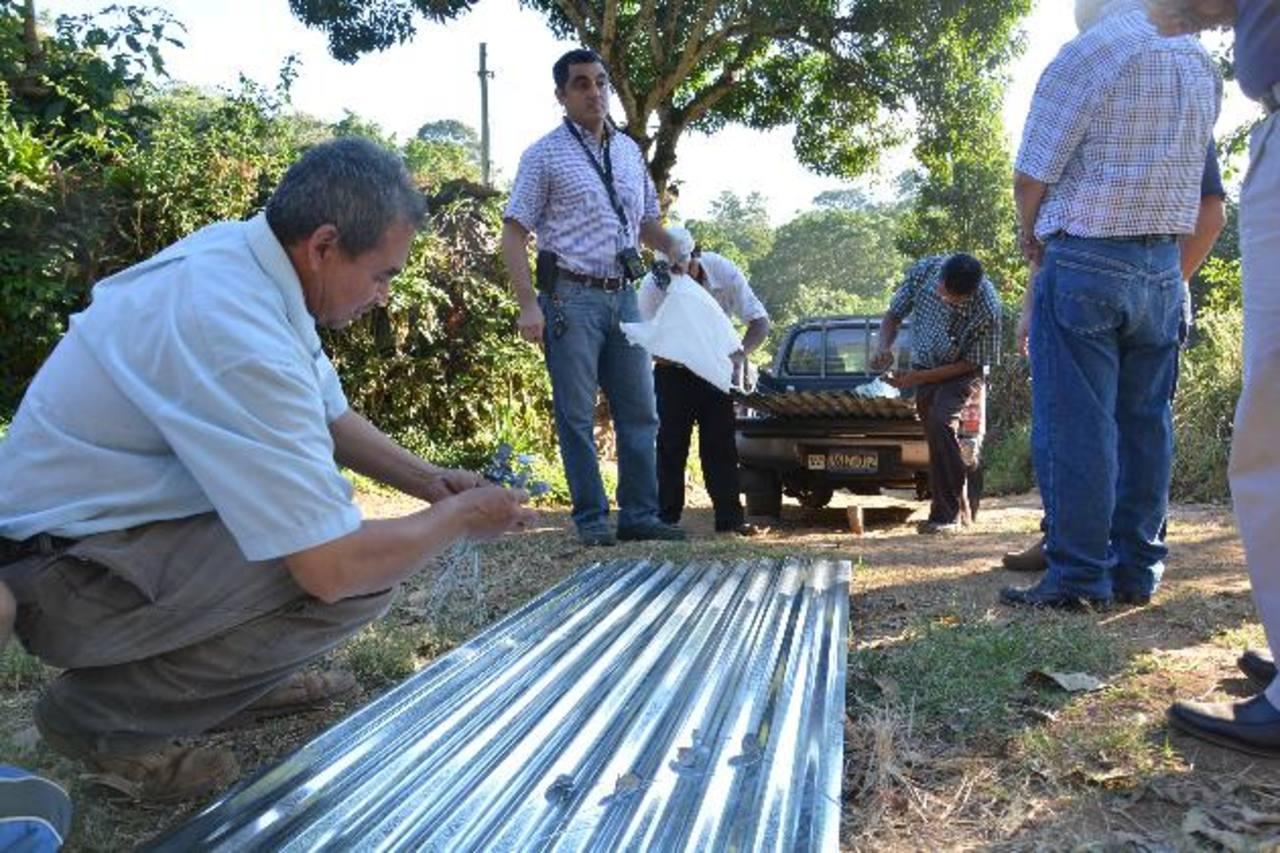 Las comunidades esperan que los rotarios les gestionen ayuda para la introducción de agua potable. Foto edh / iris lima.