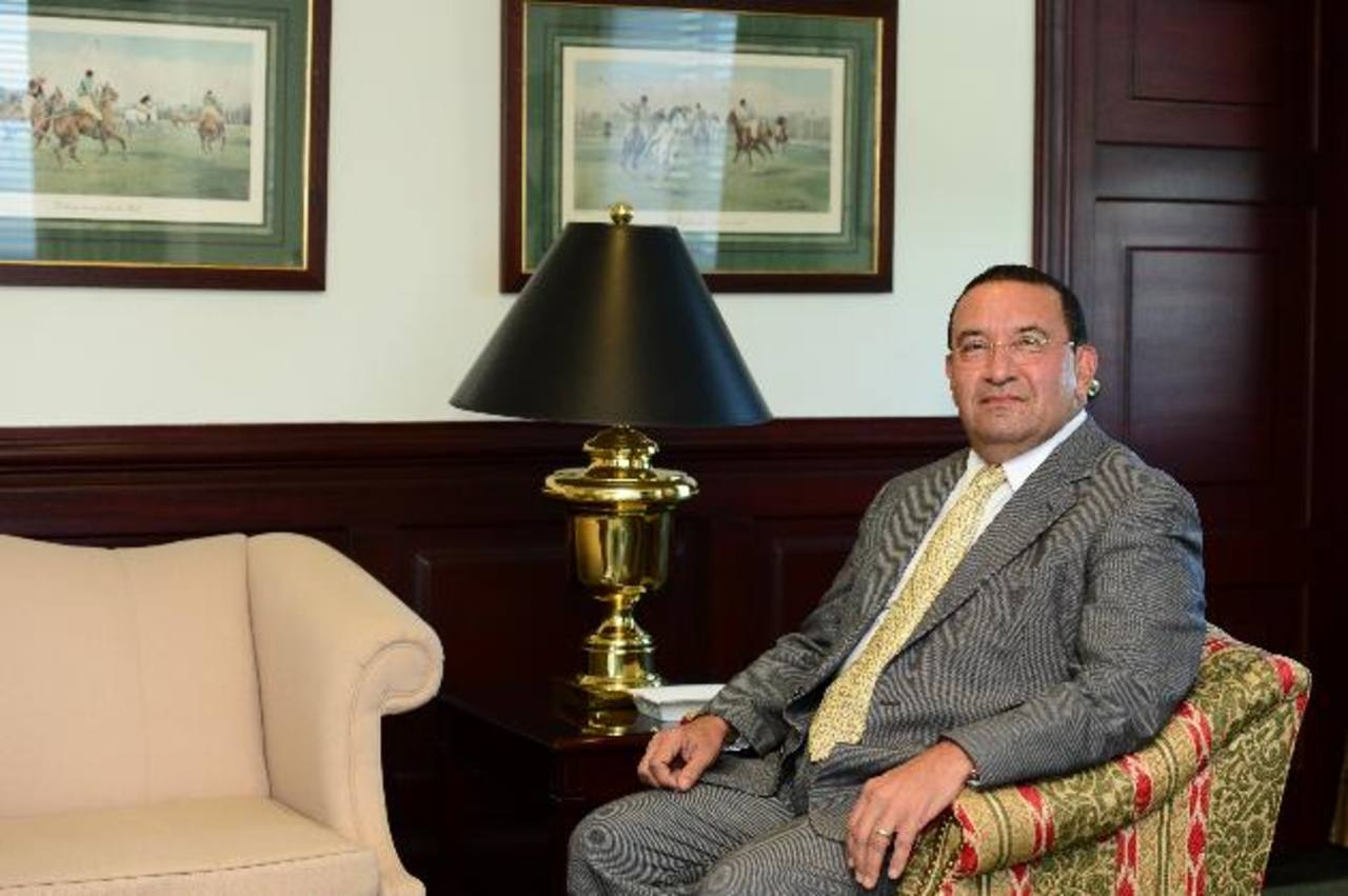 Director ejecutivo de Holcim El Salvador, Ricardo Chávez Caparroso. Foto EDH / jorge reyes