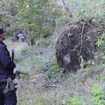 Esta fotografía corresponde a la masacre de cinco personas, la tarde del 25 de diciembre, en San Lorenzo, Ahuachapán. EDH / Archivo