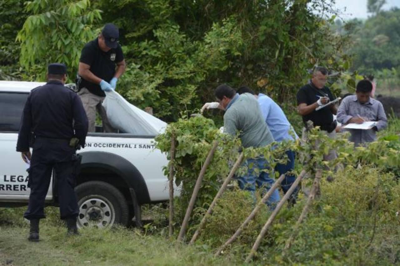 Encuentran cadáver de un agente de la PNC y el de su esposa en Sonsonate