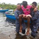 Localizan barco que volcó con 50 personas a bordo en Nicaragua