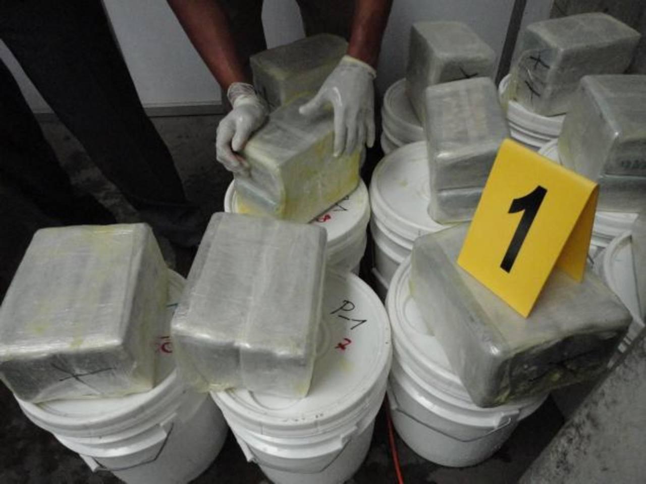 Ejército de Guatemala decomisa 540 kilos de cocaína procedentes de Colombia
