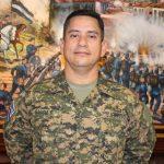 Los coroneles Alirio García Flamenco, Harold Manfredo Pineda y Mauricio Villacorta fueron ascendidos a Generales de Brigada. foto EDH / cortesía Ministerio de Defensa.