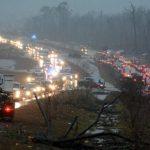 4 muertos por tormentas en el sur de EE.UU.