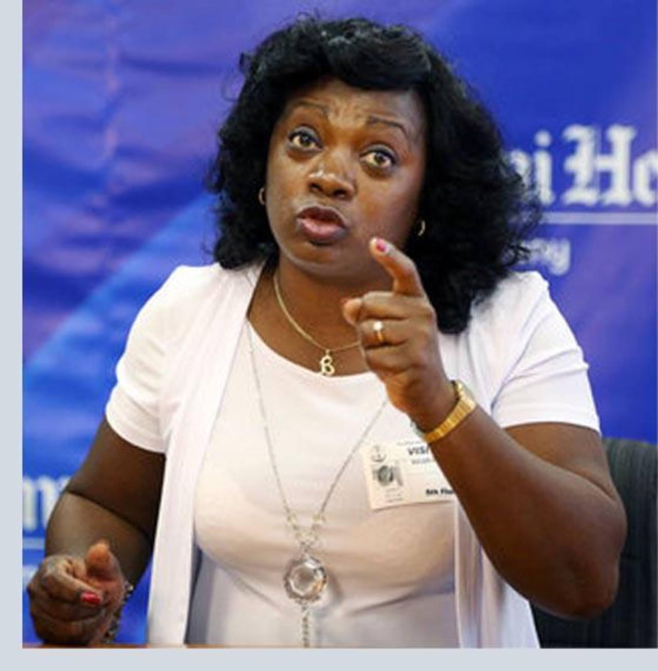 La líder de las Damas de Blanco, Berta Soler, pide conocer la lista de quiénes serán liberados. foto edh / internet