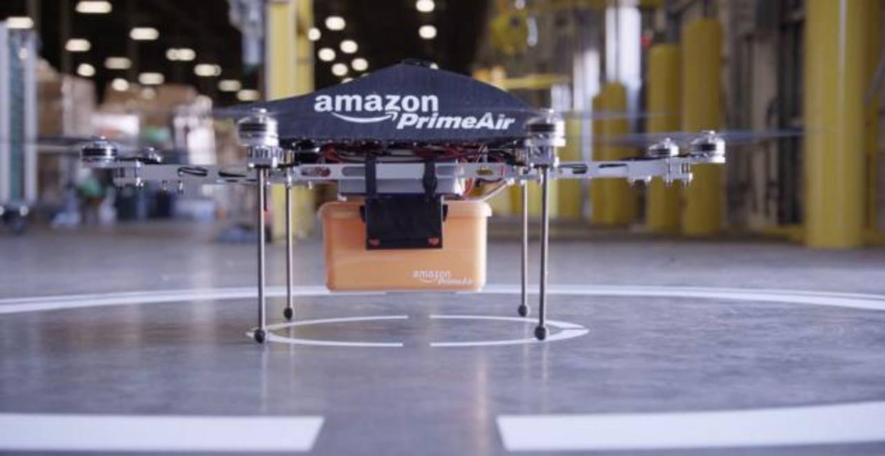Los drones son algunas de las muchas iniciativas que tiene en marcha la empresa Amazon. fotO edh