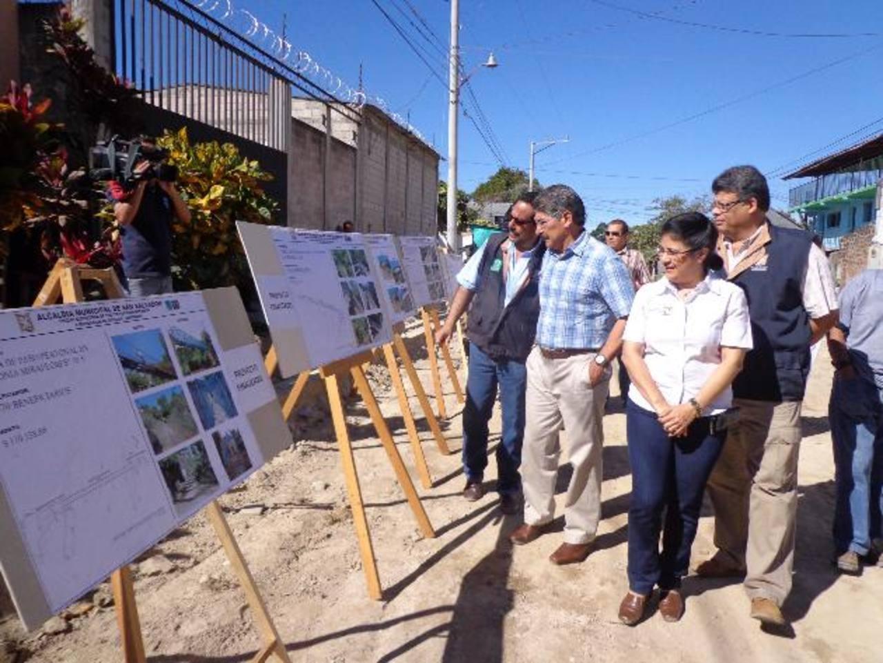 La alcaldía se encuentra mejorando las condiciones de vida de la comunidad La Constancia, y tiene otros proyectos para el mercado Modelo. Foto edh / cortesía