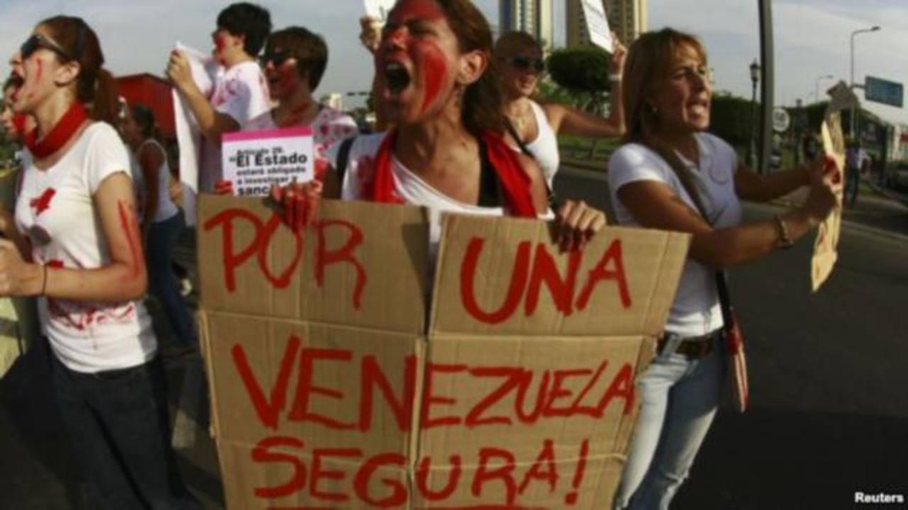La inseguridad es uno de los principales problemas de los venezolanos. foto edh / reuters.