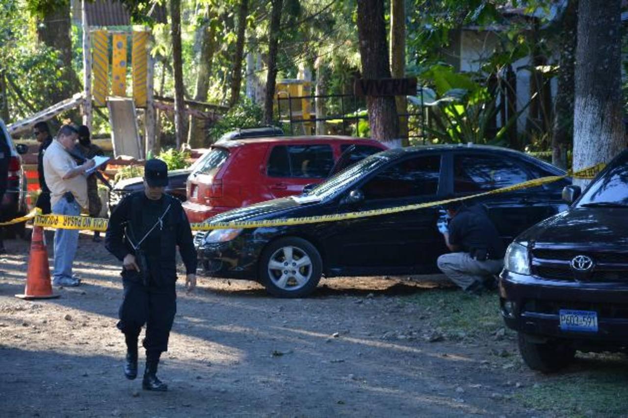 Detenidos en Juayúa, Sonsonate, luego del atraco en Santa Ana.