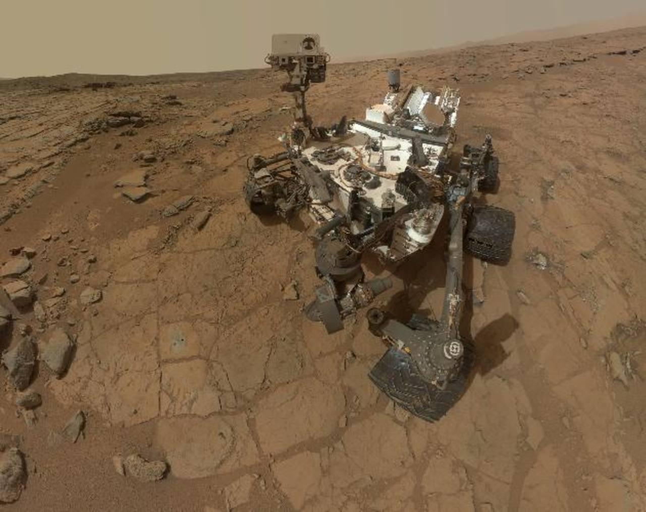 El vehículo de la Nasa está en Marte desde 2012. foto edh / efe