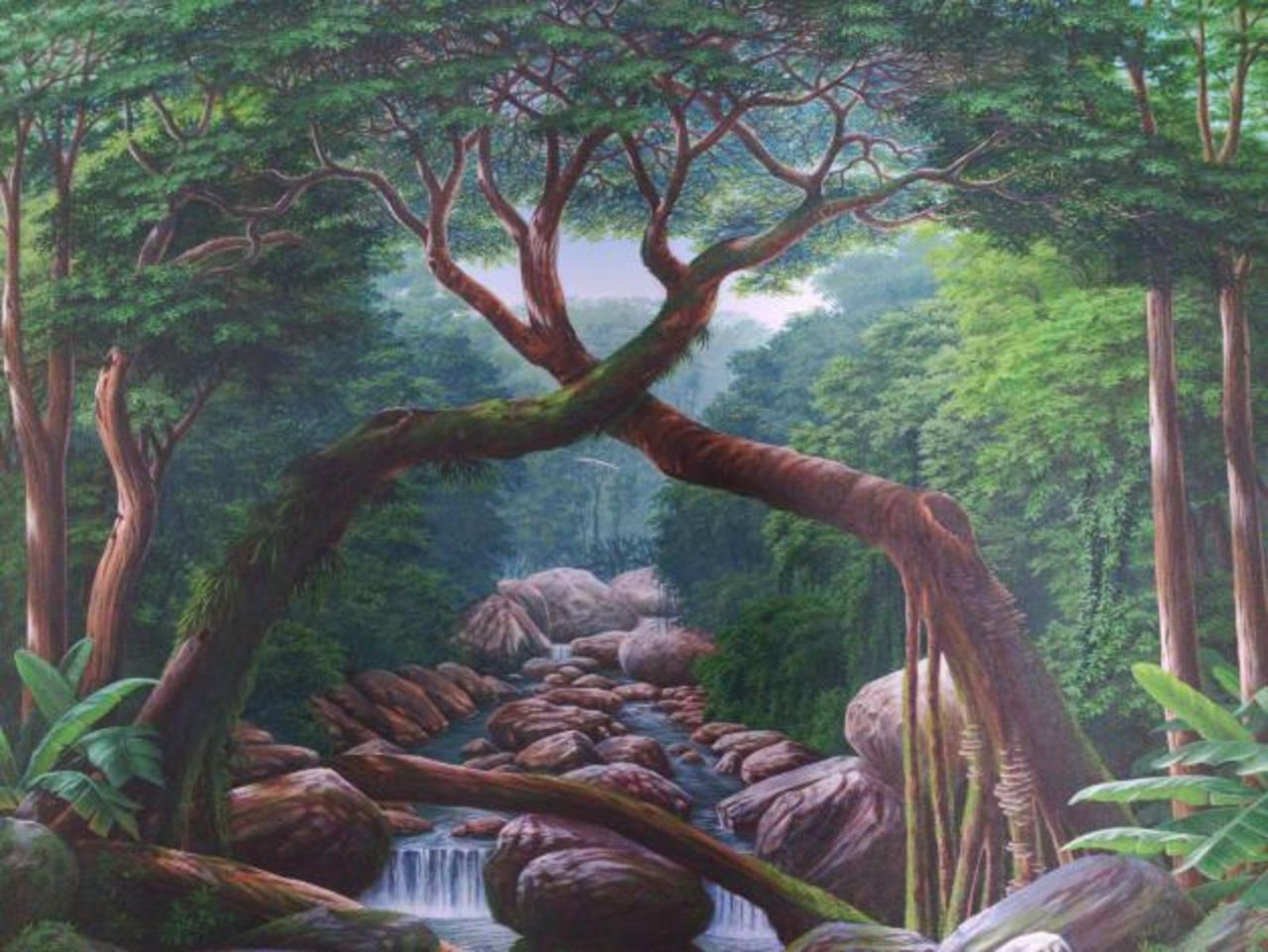 Los paisajes son parte de las propuestas. Foto EDH / Cortesía